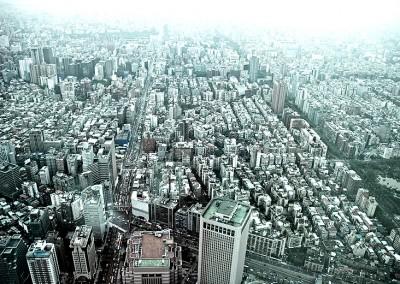 Asiatische Megastadt