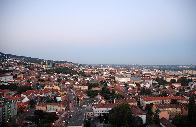 PŽcs SŸd Ungarn Nachteinbruch