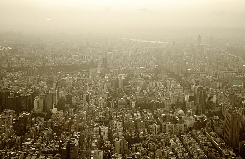 Taipei Smoke Dust Cityview