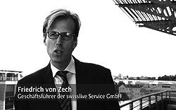 Filmproduktion, Dreharbeiten: SWISS LIVE Service GmbH