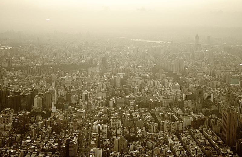 Taipei Smoke Dust Cityview