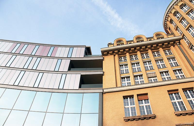 alt vs neu Fassade Leipzig