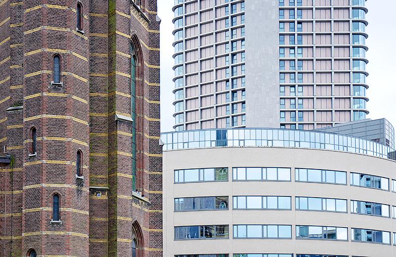 Architektur Alt und Neu in Eindhoven