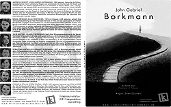 Bühnenprojektion, Dokumentation: John Gabriel Borkmann